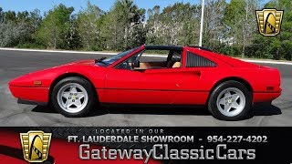 For sale in ort Fort Lauderdale showroom is a super clean 1986 Ferr...