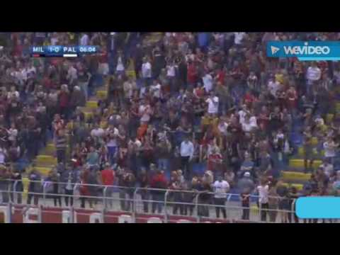 AC Milan vs Palermo 4-0 | All Goals...