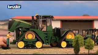 Bruder Toys John Deere 9620RX w/ Track Belts - #09817