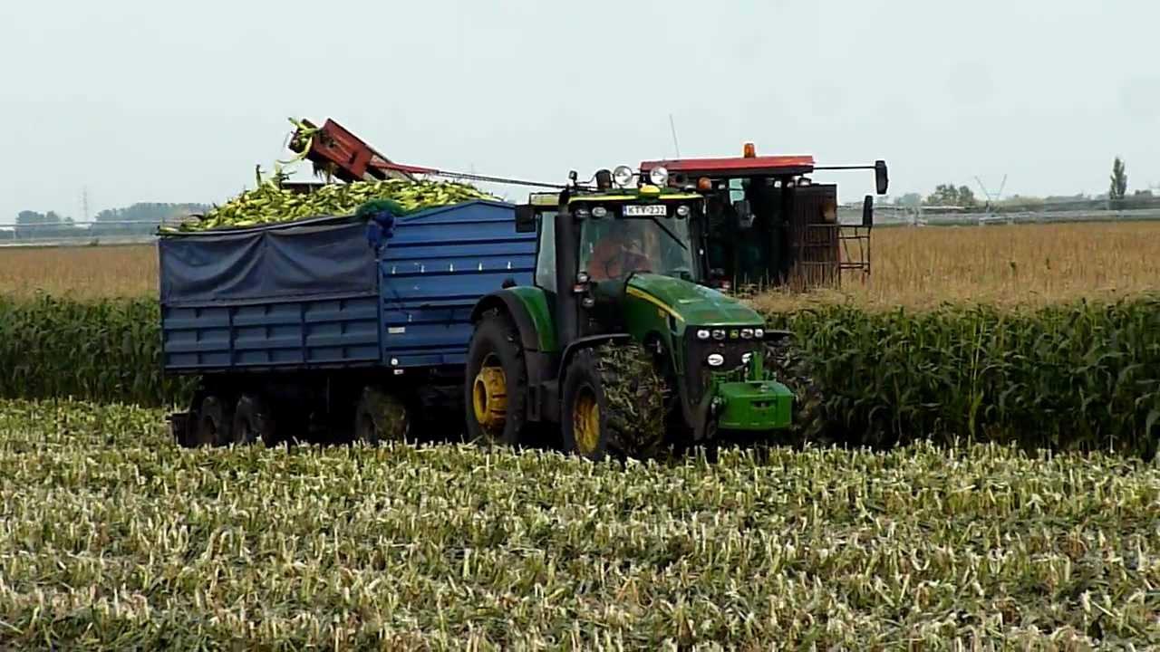 sweet corn harvesting machine