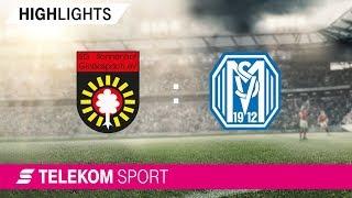 SG Sonnenhof Großaspach– SV Meppen | Spieltag 12, 18/19 | Telekom Sport
