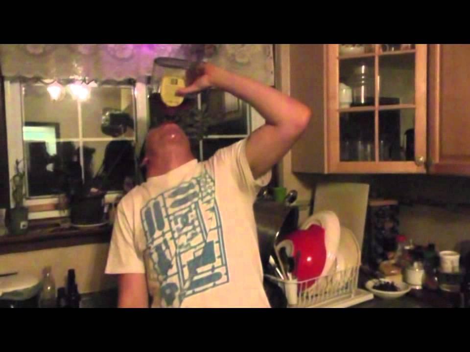 Fake sperm prank