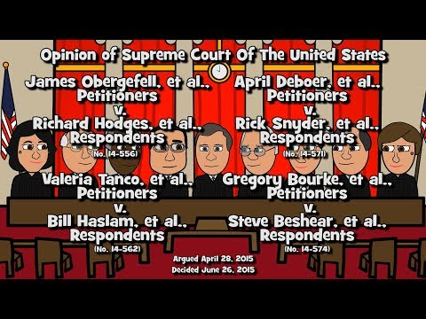 Opinion In Obergefell V. Hodges (SCOTUS-Toons)