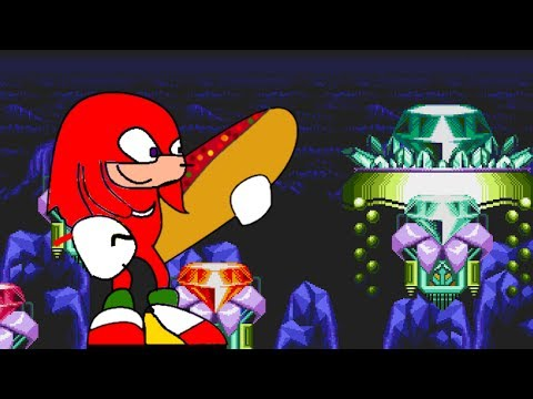 Knuckles and the master sandwich?