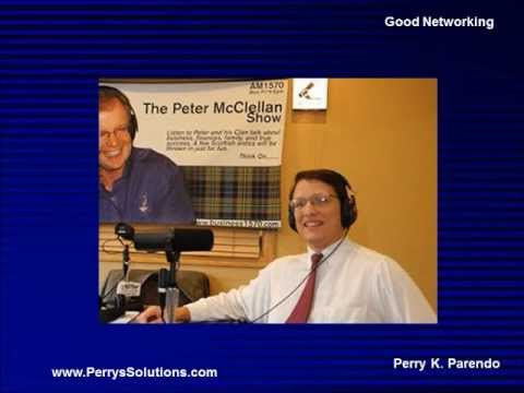 Good Networking - Radio interview - Perrys Solutions