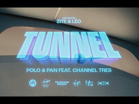 Смотреть клип Polo & Pan Ft. Channel Tres - Tunnel