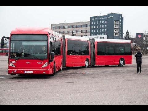 Tokių autobusų, kokie nuo rytojaus kursuos Kaune, Lietuva dar nematė