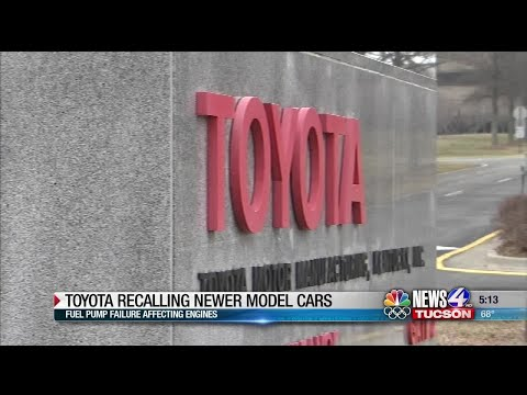 Toyota-Lexus recall 700K vehicles in US