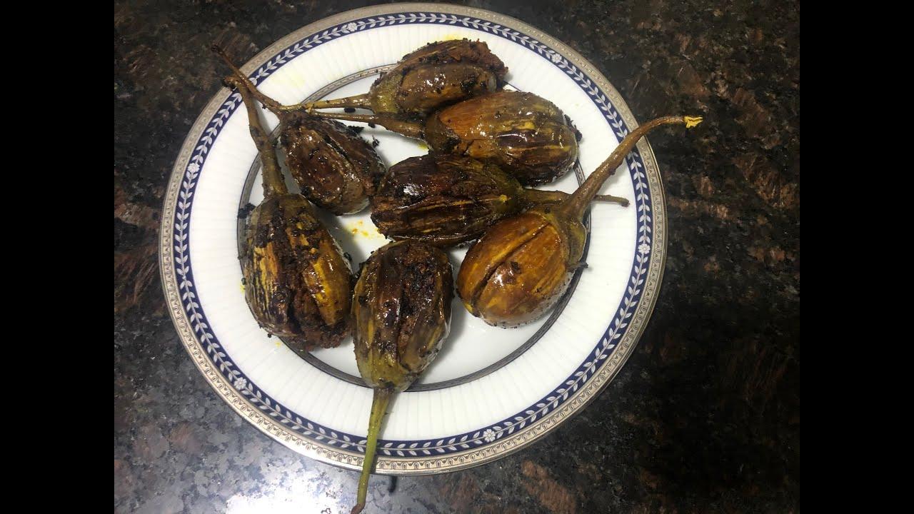 Bharwa Baingan / Stuffed Eggplant Curry (UP/Bihar style)  I Bandana Umesh