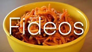 How to Make Fideos -- A DELICIOUS, SIMPLE, Authentic New Mexican Side-Dish