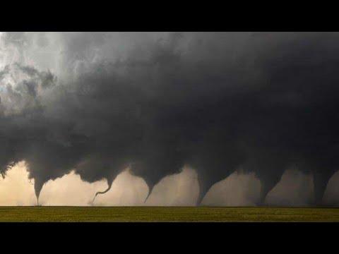 إعصار مهيب يشبه يوم القيامة يضرب كولورادو بقوة! الولايات المتحدة