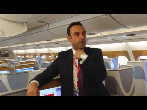 Emirates Lounge & A380 Tour with Corporate Travel Concierge