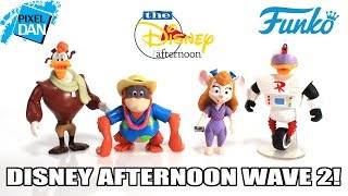 Disney Afternoon Wave 2 Funko Action Figures Video Review - Gizmo Duck And More!