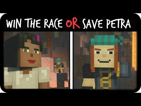 Win the Race | Minecraft: Story Mode Season 2 | Episode 1