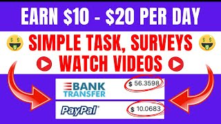 Earn $10 Per Day by Doing Simple Task & Watch Videos | DollarHuge Review in Hindi | Avstech