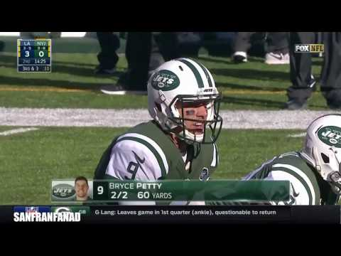 Bryce Petty vs Jets (NFL Week 10 - 2016) - 163 Yards, TD + INT! First Start! | NFL Highlights HD