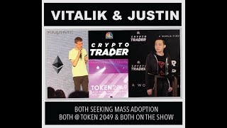 Vitalik & Justin Sun - Exclusive Coverage TOKEN 2049