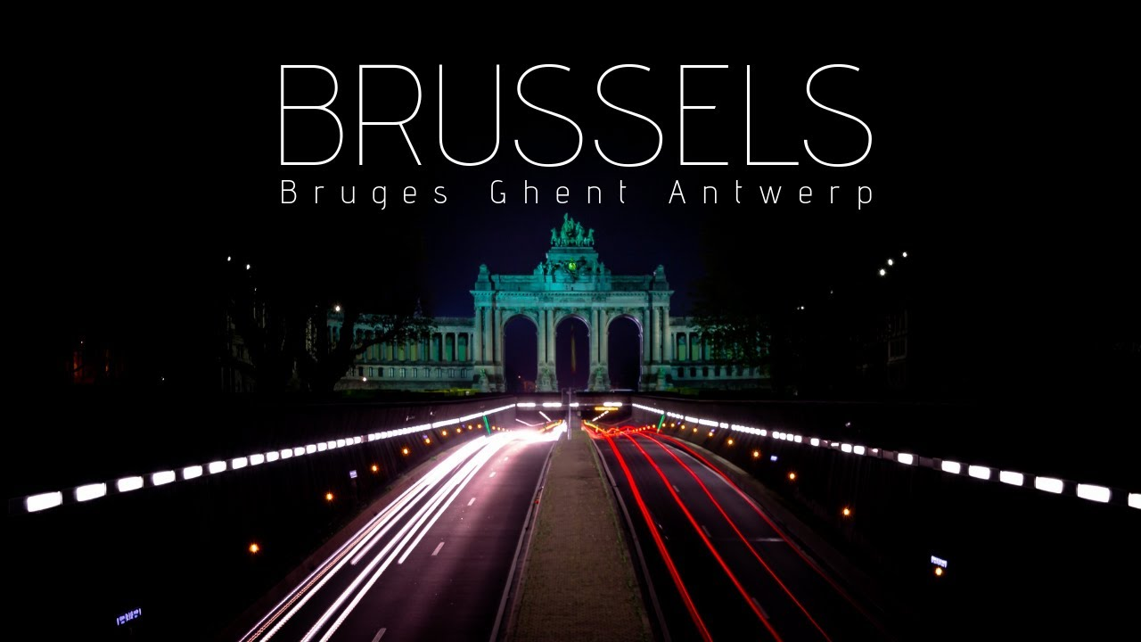 Brussels Timelapse 4K, The heart of Europe