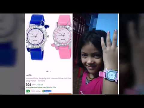 #Flipkart  Shopping👉Low Price Watch Review. Sabse Sasta Aur Sabse Achha Ghadi/#kids Fun By Sakshi