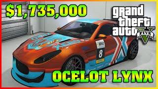 OCELOT LYNX | Fully Upgraded Cunning Stunts | GTA 5 Online DLC