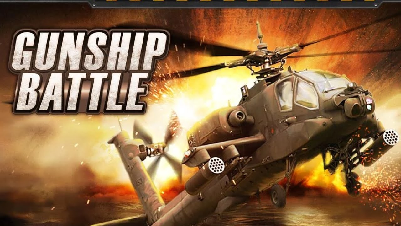 GUNSHIP BATTLE : Helicopter 3D - Android gameplay ...