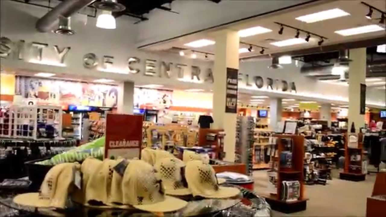 UCF Barnes and Noble College Bookstore - YouTube
