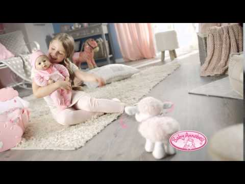 smyths toys baby annabell sheep bed youtube. Black Bedroom Furniture Sets. Home Design Ideas