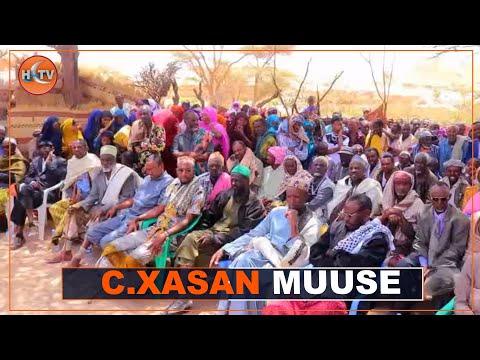 Download Caaqil Xasan Muuse Yuusuf Oo Kamid Noqon Doona Madaxda Dhaqanka Ayaa Ceelafweyn Lagu Caleema Saaray.