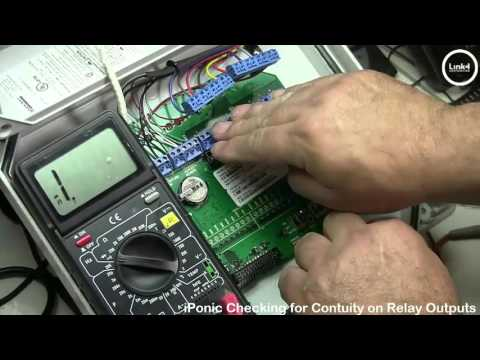 IPonic Checking Relay Outputs For Continuity