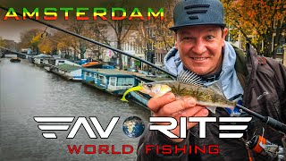 Ловля судаков под мостами Стритфишинг в Амстердаме Favorite World Fishing