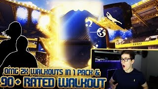 FIFA 17: TOTY PACK OPENING! 90+ & 2x WALKOUT IN 1 PACK! (DEUTSCH) - ULTIMATE TEAM - TEAM OF THE YEAR