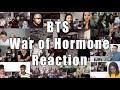 "BTS(방탄소년단) _ War Of Hormone ""Reaction Mashup"""
