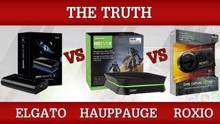Elgato Game Capture HD vs HD PVR 2 vs Roxio Game Capture HD Pro [The Truth]