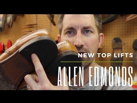 Heel Pad (Top Lifts) Replacement - Allen Edmonds