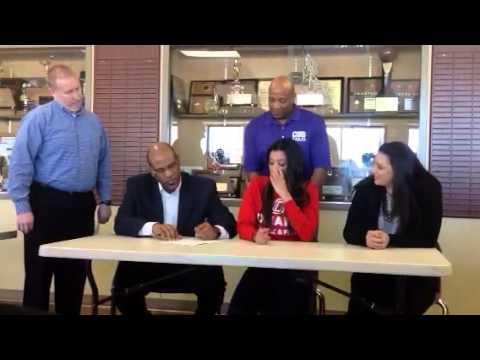 Noni Henderson -  UNO Track Scholarship