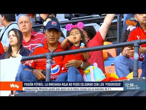 Pasión Fútbol | Medellín no pudo ser 'poderoso' frente al 'ChaTeo' de Junior