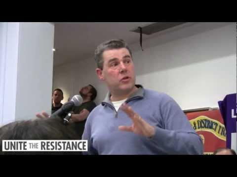 Mark Sewotka - Unite the Resistance Emergency Meeting