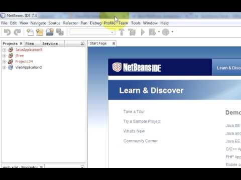 JSF (JavaServer Faces) Tutorial 1: Setup And First Project With Glassfish And NetBeans IDE