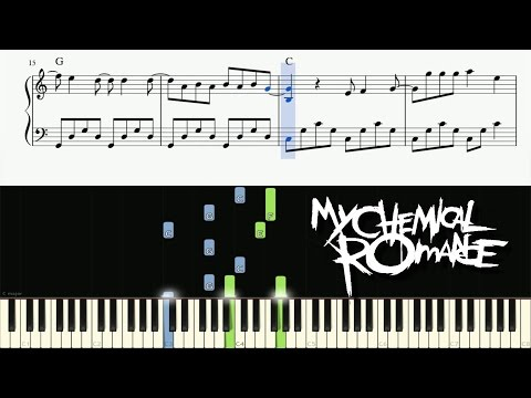 My Chemical Romance - I Don't Love You - Piano Tutorial + SHEETS