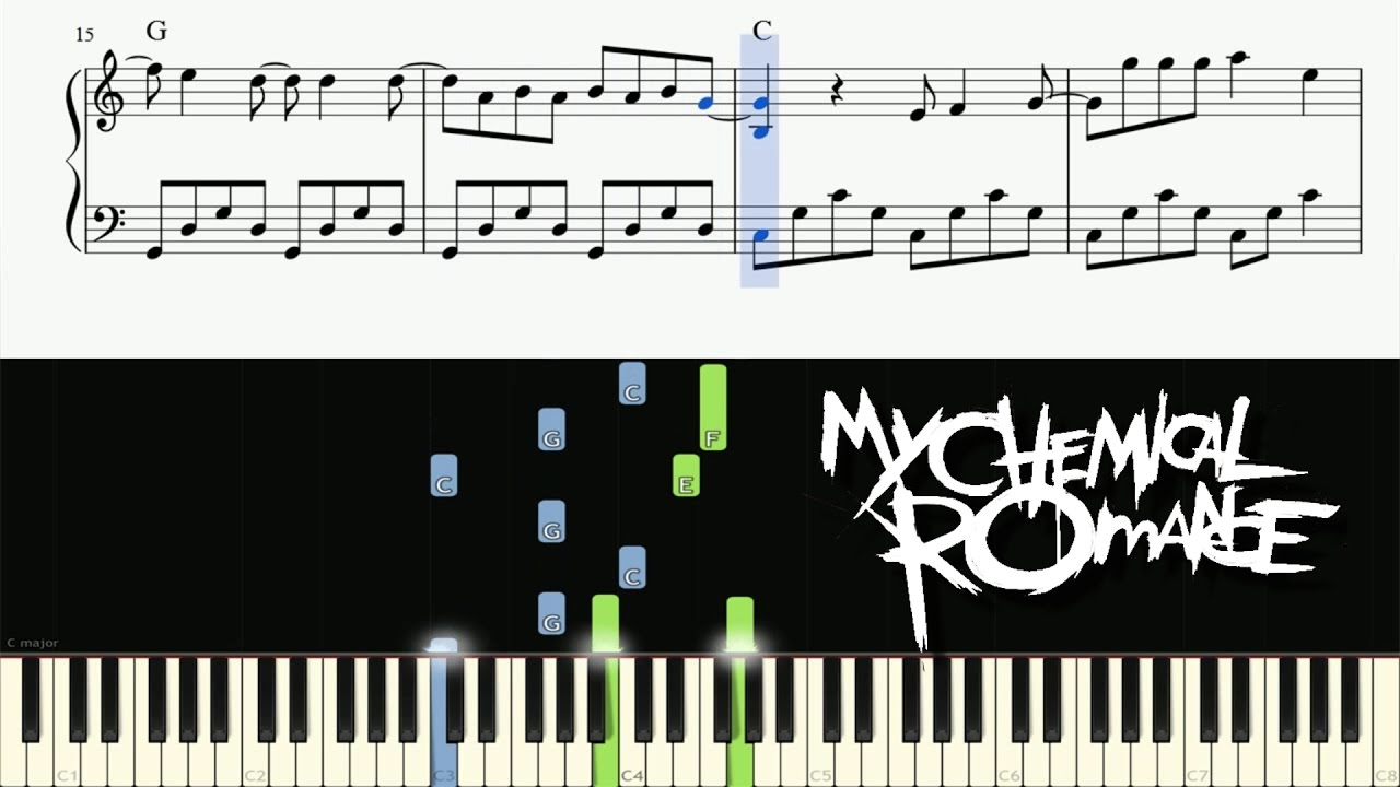 My chemical romance i dont love you piano tutorial sheets my chemical romance i dont love you piano tutorial sheets hexwebz Choice Image
