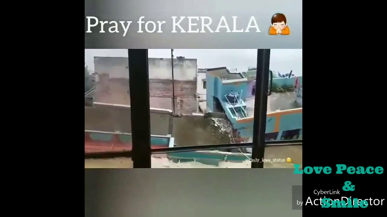 Pray for Kerala ! Let's all come together and help people to come out from this Disaster