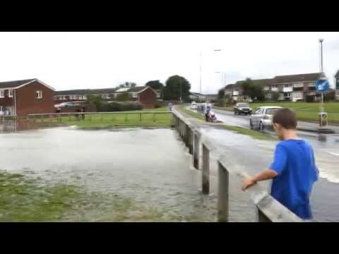 Flooding in Witham 20/09/2014 (RAW)