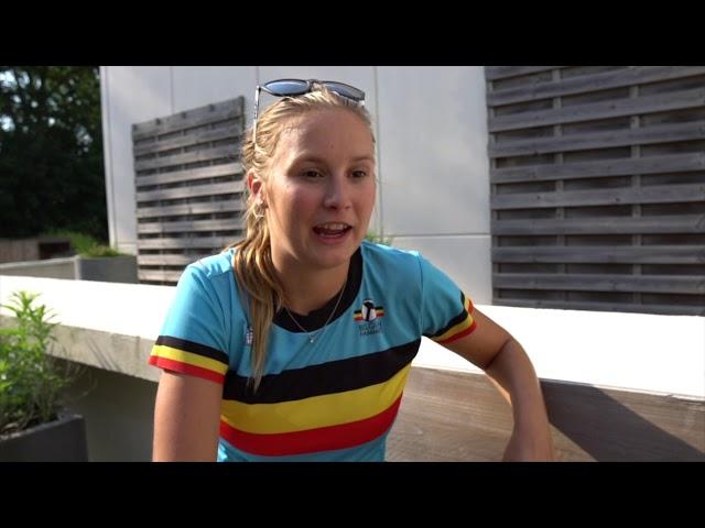 Hanne De Vet klaar voor WC Antwerpen 2019