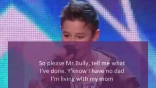 Bars and Melody with lyrics Britains Got Talent - 2014