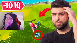 Reacting to the DUMBEST Fortnite Moments...