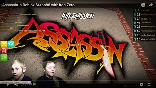 Assassin In Roblox Sozan88 with Iron Zero