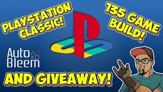 PlayStation Classic 135 PSX Game AutoBleem Build Preview & Giveaway!