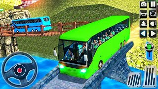 Offroad Coach Bus Driver Simulator - Uphill Bus Tourist Driving - Android GamePlay screenshot 4