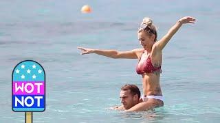 Love Island's Laura Anderson & Boyfriend Holiday in Barbados