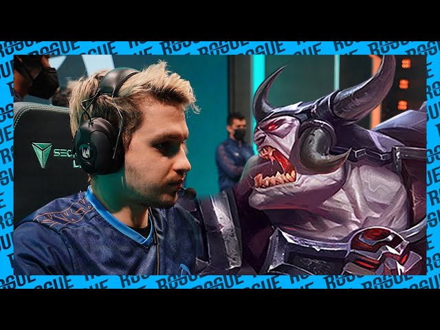 ODOAMNE wants to pick champs with AXES!   Rogue Voice Comms [LEC Playoffs Round 1 vs MAD Lions]